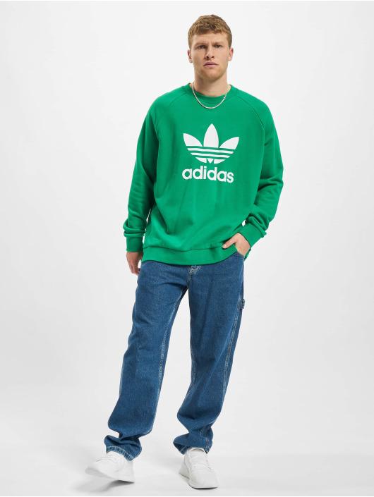 adidas Originals Sweat & Pull Trefoil Crew vert