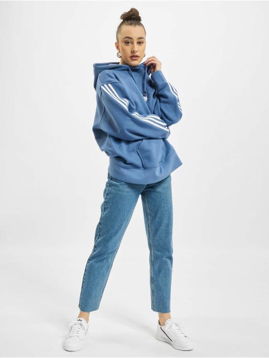 adidas Originals Sweat capuche Oversized bleu