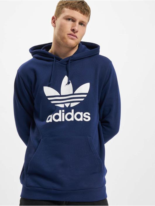 adidas Originals Sweat capuche Trefoil bleu