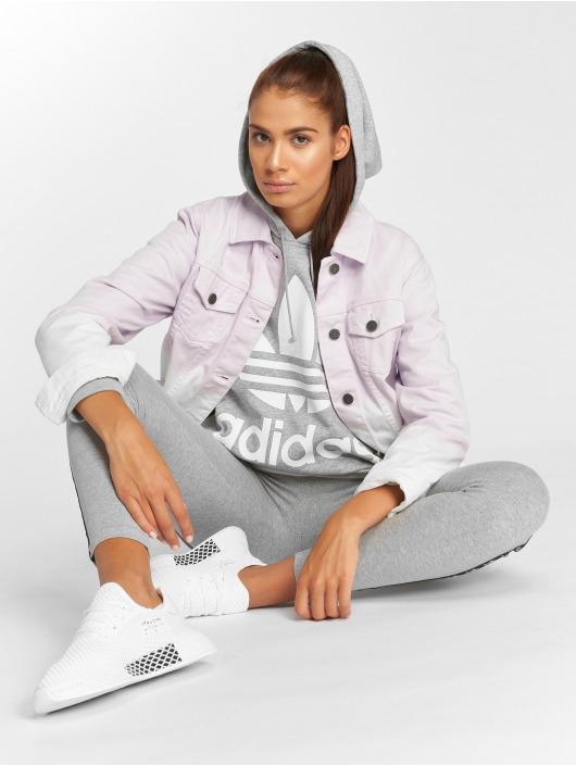 adidas originals Sweat capuche BF Trefoil gris