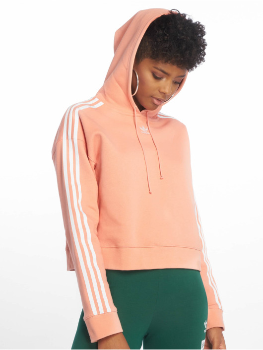 Cropped 599286 Magenta Adidas Sweat Femme Capuche Originals XPiOZuk