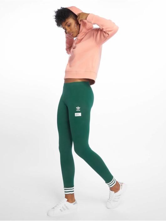 adidas Originals Sweat capuche Cropped magenta