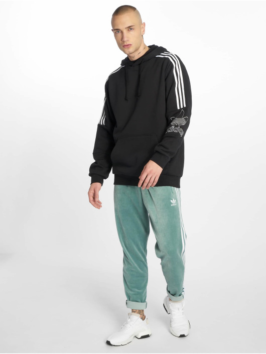 adidas originals Sweat capuche Outline noir