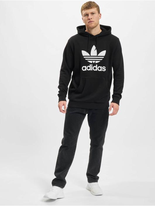 adidas Originals Sweat capuche Trefoil noir