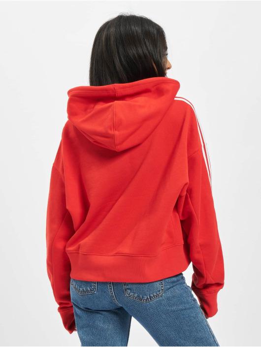 adidas Originals Sweat capuche Short rouge