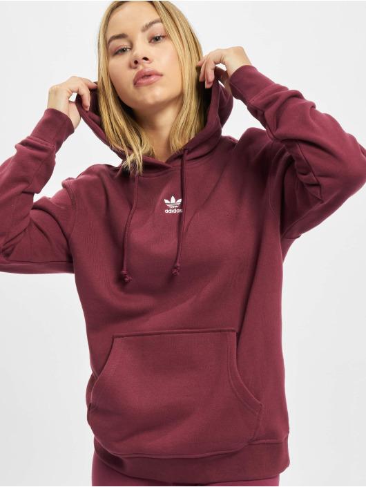 adidas Originals Sweat capuche Originals rouge