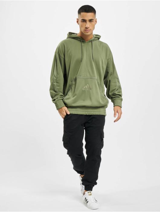 adidas Originals Sweat capuche Cross Up 365 vert