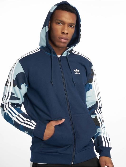 comment avoir Beau design Braderie Adidas Originals Camo Full Zip Hoody Conavy
