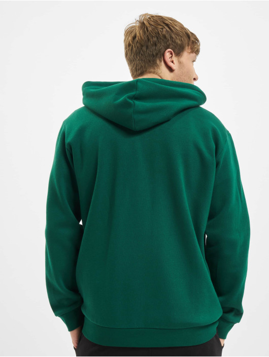 adidas Originals Sweat capuche zippé 3-Stripes vert