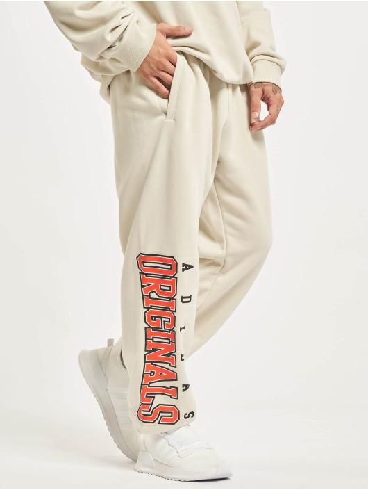adidas Originals Sweat Pant Script beige