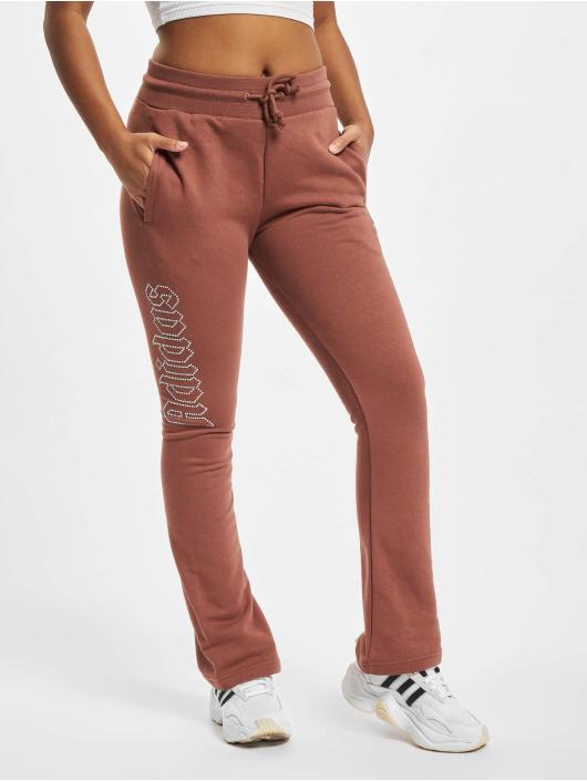 adidas Originals Sweat Pant Open Hem brown