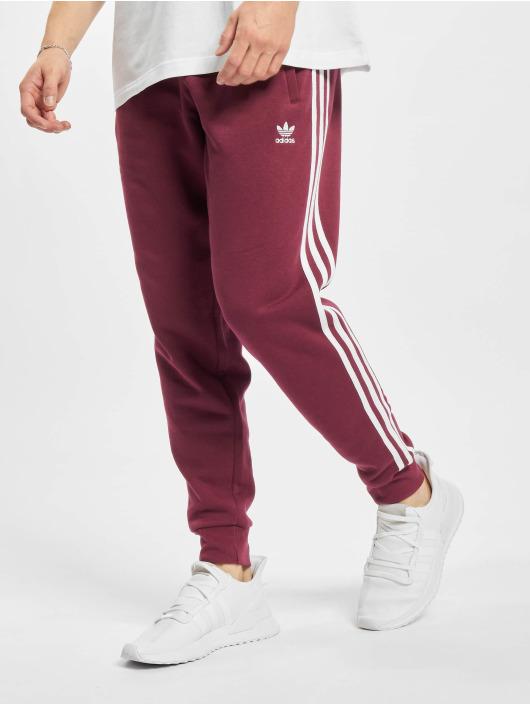 adidas Originals Sweat Pant 3-Stripes red