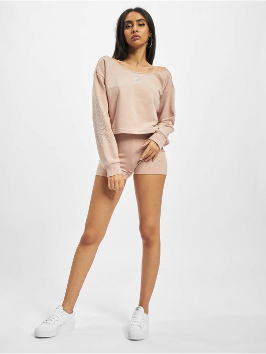 adidas Originals Swetry Slouchy Crew bezowy