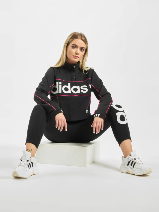 adidas Originals Swetry Cropped czarny