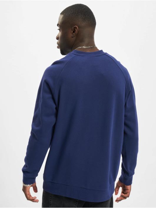 adidas Originals Swetry Trefoil Crew niebieski