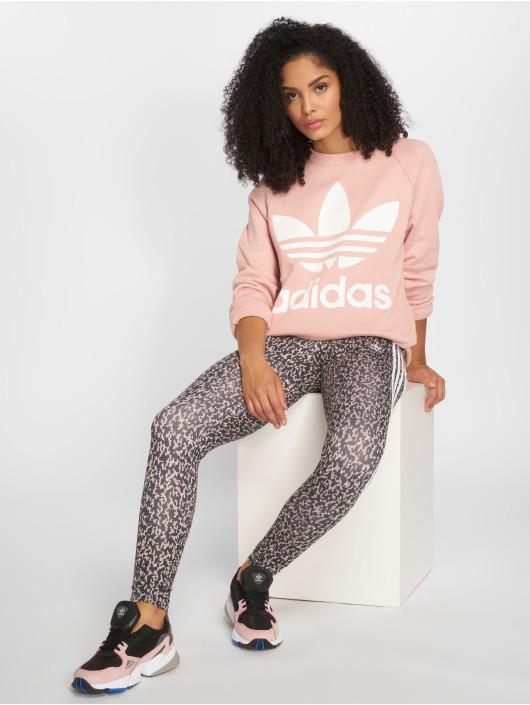 adidas originals Swetry Oversized Sweat rózowy