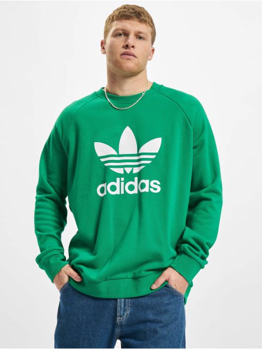 adidas Originals Swetry Trefoil Crew zielony