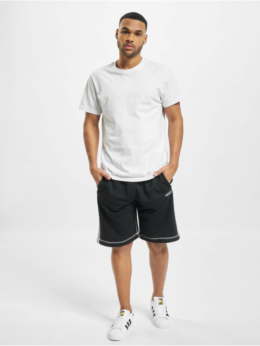 adidas Originals Szorty Contrast Stitch czarny