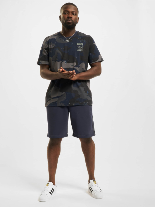 adidas Originals Szorty Camo niebieski