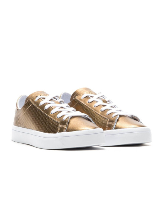 adidas originals Tøysko Court Vantage W gull