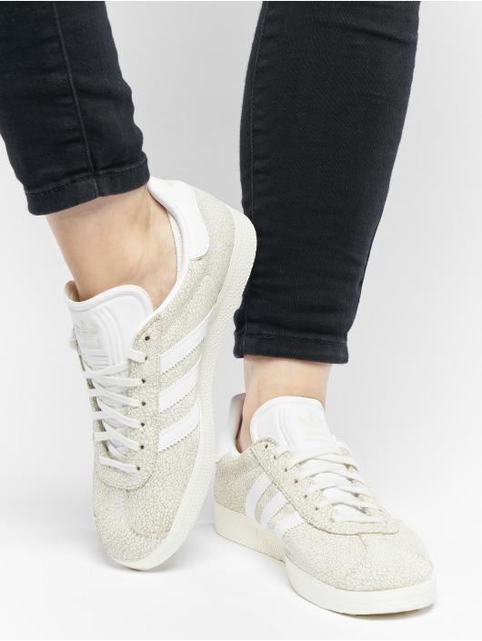 adidas originals Tøysko Gazelle W hvit
