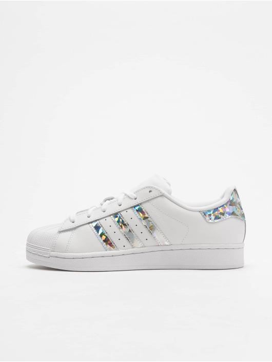 adidas Originals Tøysko Superstar J hvit