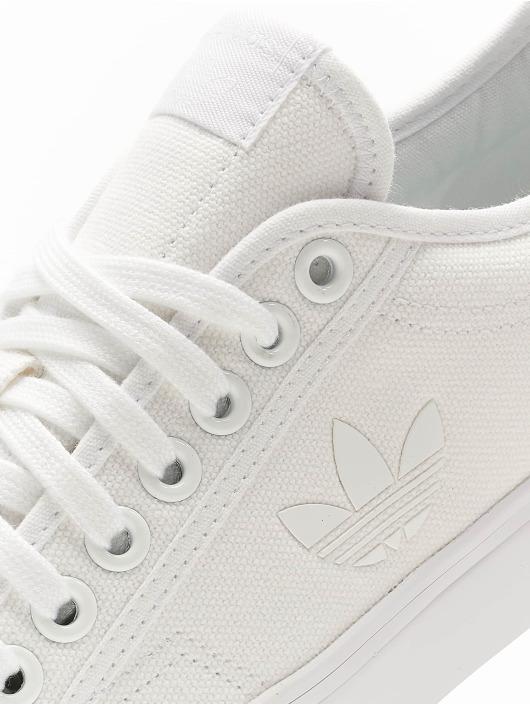 adidas Originals Tøysko Nizza Trefoil hvit