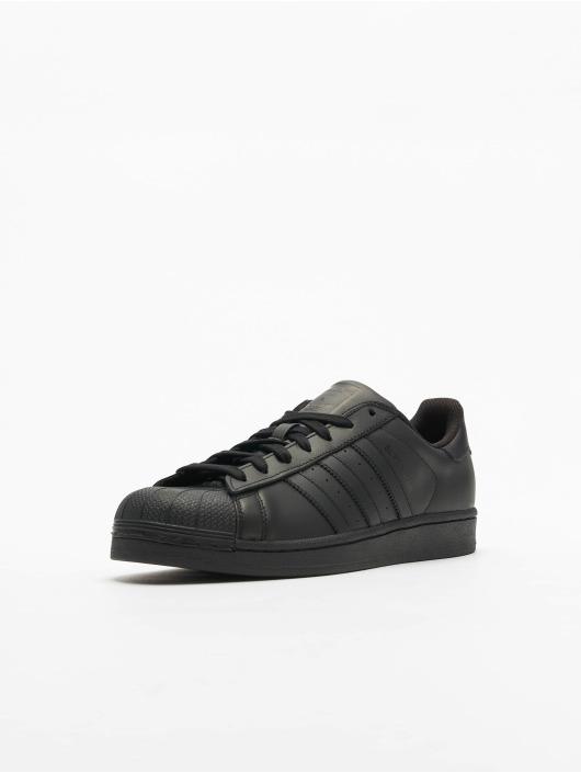 adidas Originals Tøysko Superstar Founda svart