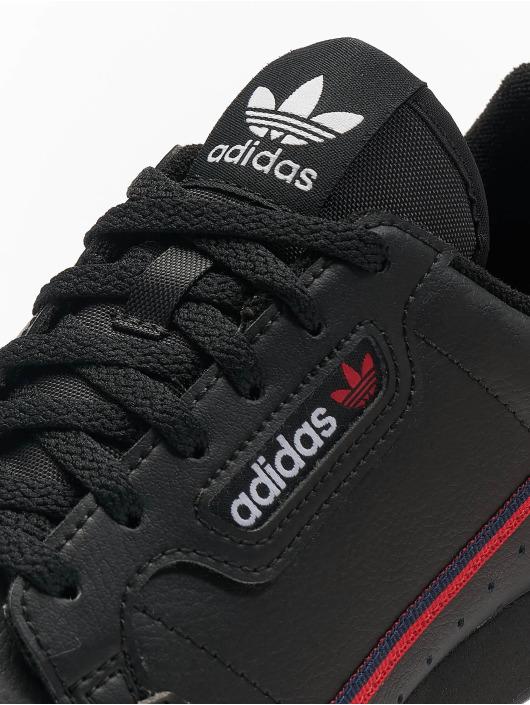 adidas Originals Tøysko Continental 80 J svart