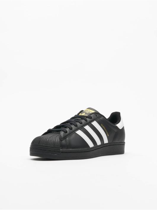 adidas Originals Tøysko Superstar svart