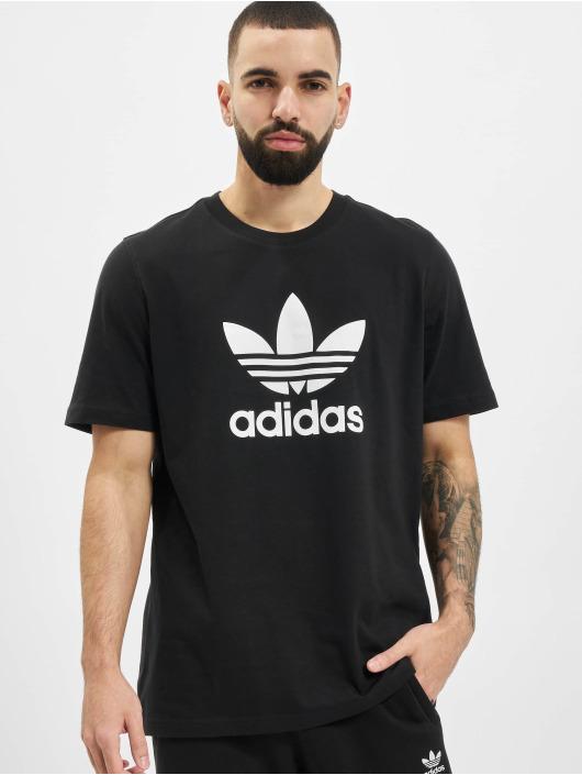 adidas Originals T-paidat Trefoil musta