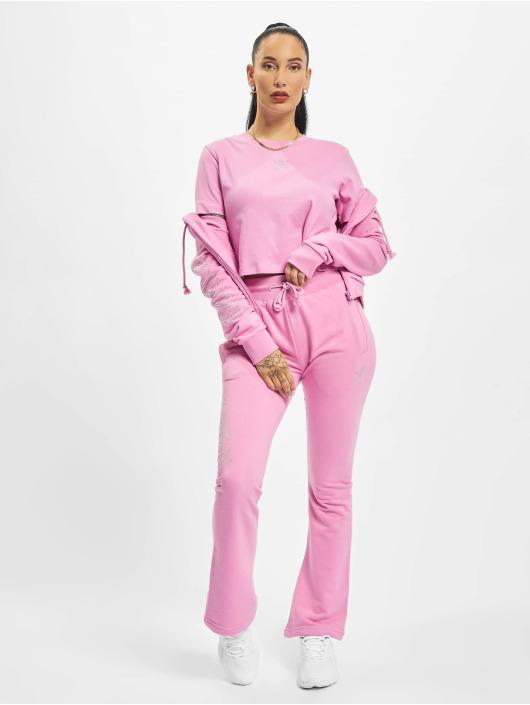 adidas Originals T-paidat Cropped vaaleanpunainen