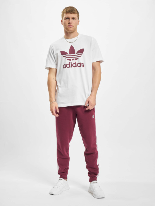 adidas Originals T-paidat Trefoil valkoinen