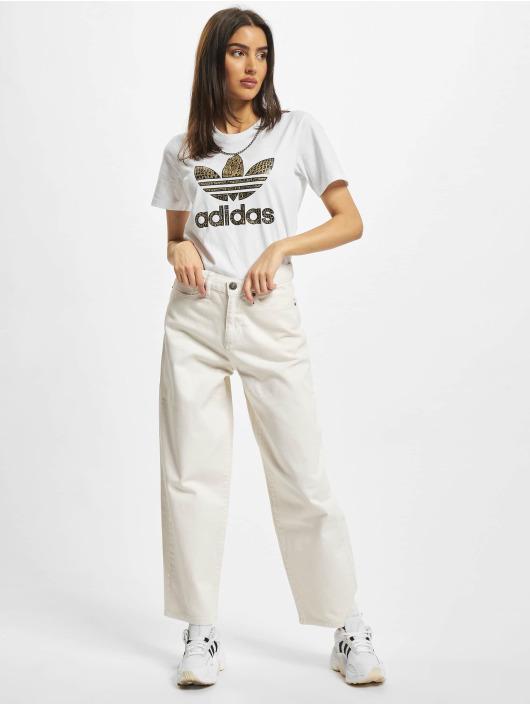 adidas Originals T-paidat Trefoil 21 valkoinen