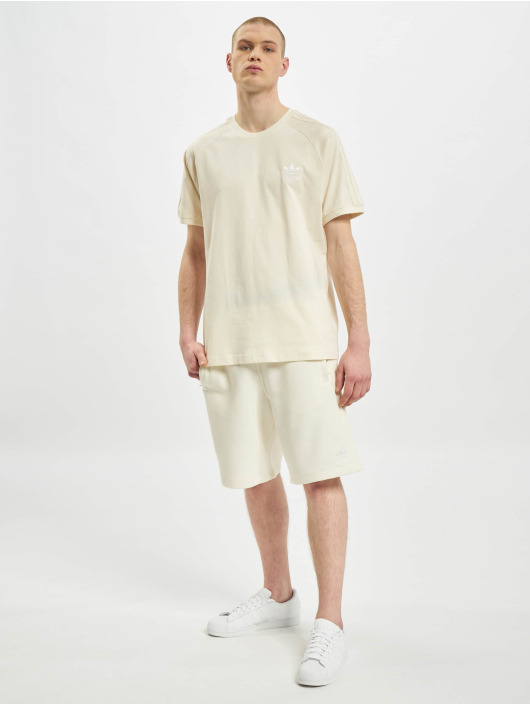 adidas Originals t-shirt 3-Stripes beige