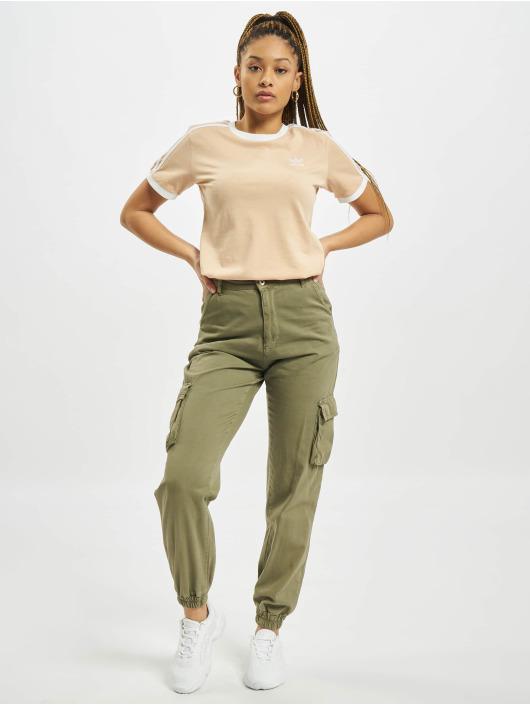 adidas Originals T-Shirt 3 Stripes beige