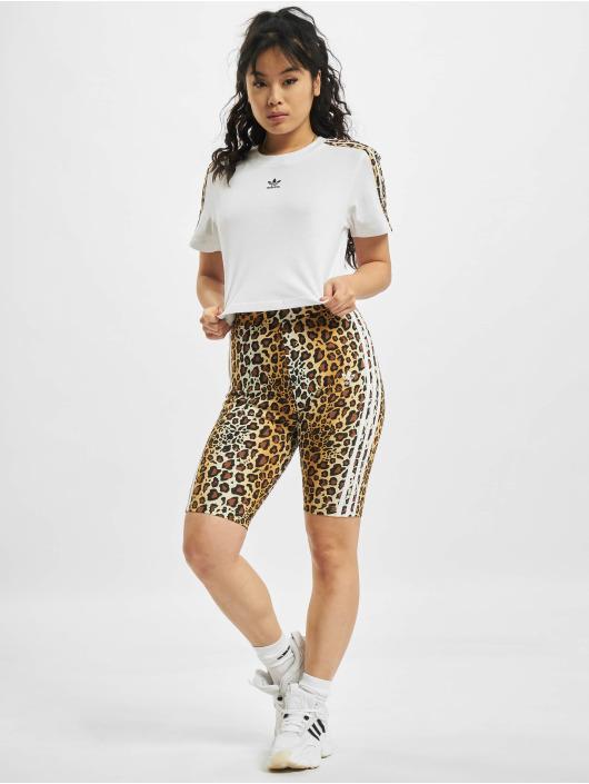 adidas Originals T-shirt Cropped bianco