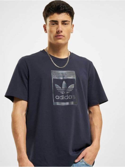 adidas Originals T-shirt Camo Infill blå