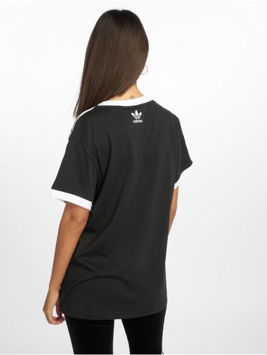adidas Originals T-Shirt 3 Stripes black