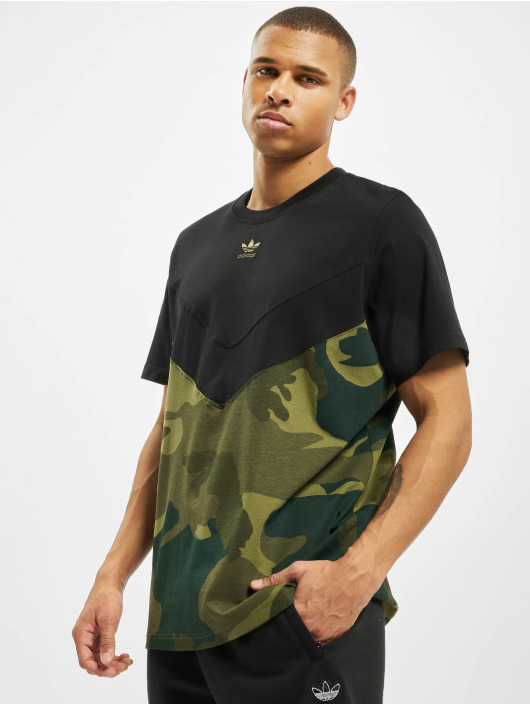 adidas Originals T-Shirt Camo Block black