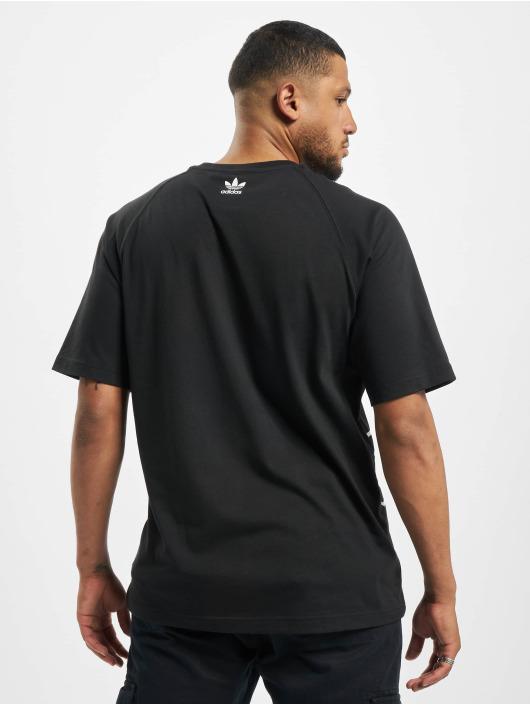 adidas Originals T-Shirt Originals Big Trefoil Outline black