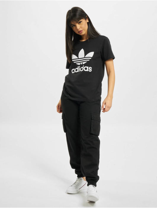 adidas Originals T-Shirt Trefoil black
