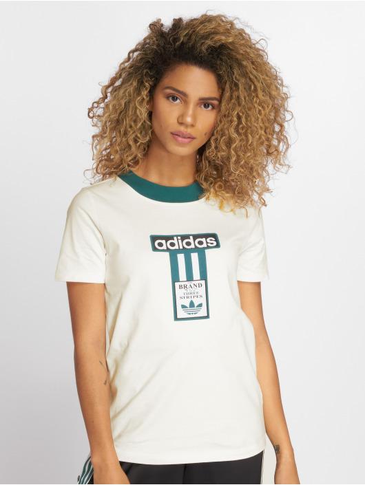 adidas originals T-Shirt Blacra blanc