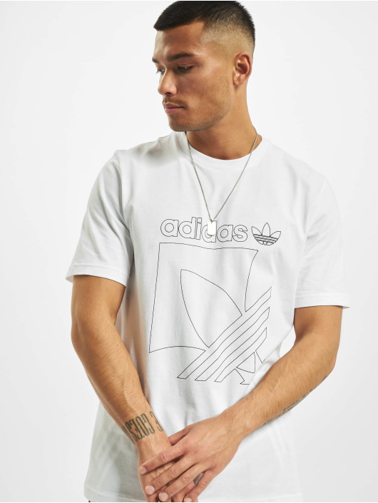 adidas Originals T-Shirt Sport 3-Stripes blanc