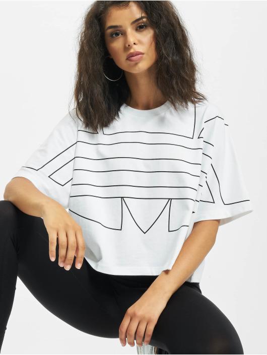 adidas Originals T-Shirt LRG Logo blanc