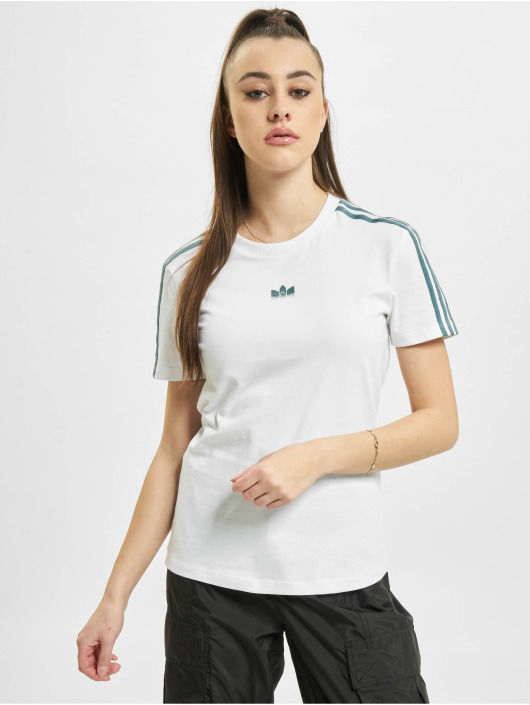 adidas Originals T-Shirt Slim blanc