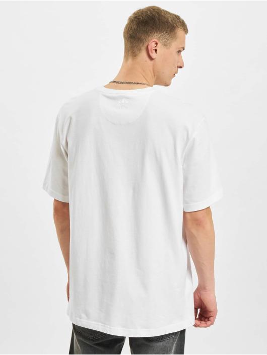adidas Originals T-Shirt 3D TF blanc