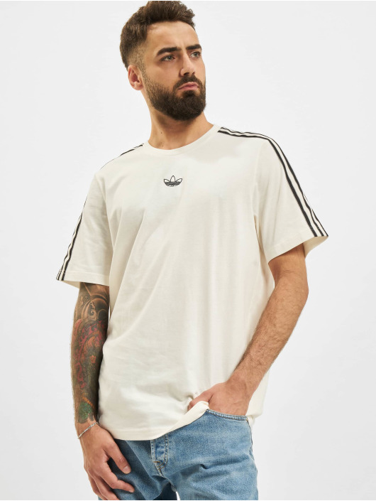 adidas Originals T-Shirt 3 Stripe blanc