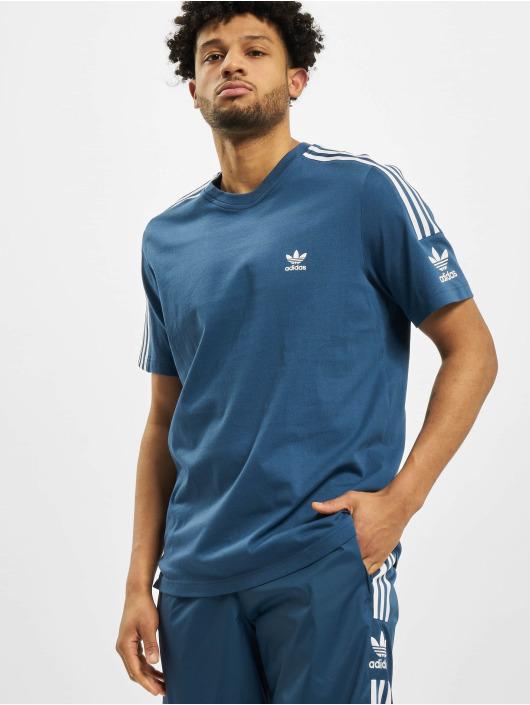 adidas Originals T-Shirt Tech blau