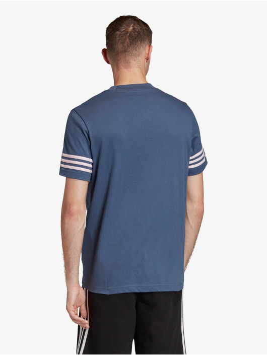 adidas Originals T-Shirt Outline blau